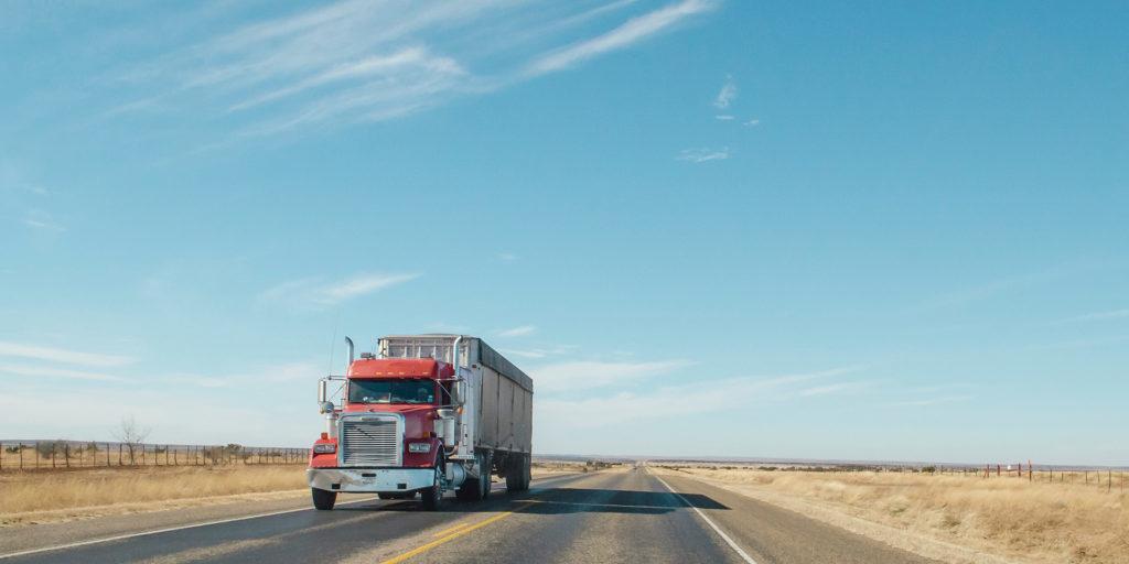 Truck-on-Highway